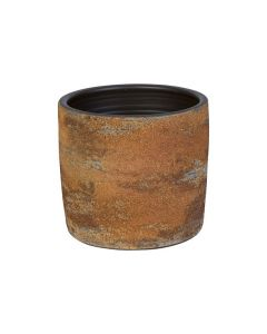 Bloempot Rond - Rusty Bruin