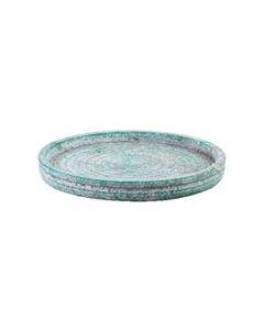 PTMD - Kaarsenplateau/schaal - Groen - 25 cm