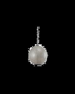 PTMD - Hanglamp Glas  - Zilver