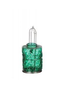 Lantaarn van Ijzer en glas - Munt Groen - Dia15 x 32cm