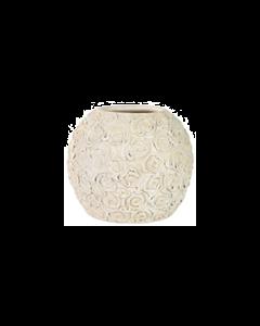 PTMD - Pot Rosas - Wit - Rond 21 cm