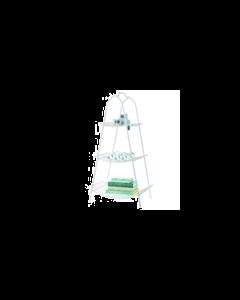Riverdale - Opbergrek Urban Wit - 3 Laags - Hoogte 113 cm