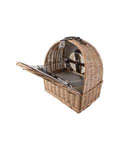 Rieten Picknickmand Compleet voor 4 personen