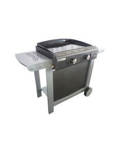 Cook'in Garden - Gas Barbecue met Bakplaat en 2 Branders